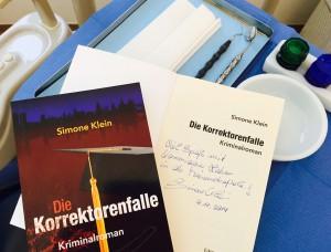 Zahnarzt Gewinnspiel mit Autorin Simone Klein und Frankfurtkrimi (1)