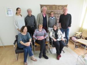 Schlieremer Künstlertreffen am 21. März 2015 Foto: T. Brühlmann-Jecklin, privat
